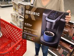 Office barista is an authorised keurig uk keurig coffee machines are stylish, reliable and easy to use. Keurig K Elite Coffee Maker Only 80 74 At Target The Krazy Coupon Lady