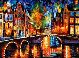 most famous paintings ever leonid afremov one of the most colorful painters ever