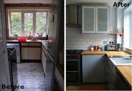 Small Kitchen Remodel Before And After Property