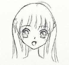 Come Disegnare Facce Anime Matita Anime Facce