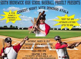Comedy Night With Domingo Ayala Tricky Tray Sbhs Baseball