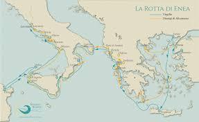 Parte Litinerario In Cinque Paesi Mediterranei Sulle Tracce Di Enea