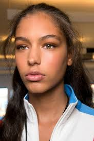 40 s makeup victory crawford joan the best beauty looks from nyfw spring 2017 runway hair and makeup spring 2017 beauty and