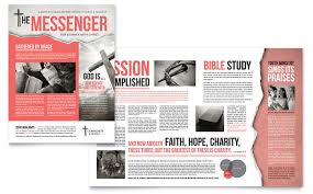 Religious & Organizations Newsletters | Templates & Design Examples