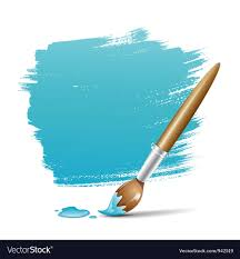 paint brush background. Exellent Brush Paint Brush Blue Background Vector Image With Brush Background H