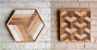 50 wooden wall decor art finds to help