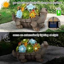 turtle garden figurines outdoor decor