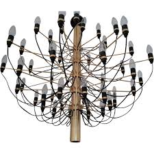 chandelier vintage italian by gino sarfatti