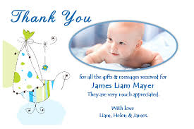 Baby Thankyou New Baby Thank You Cards