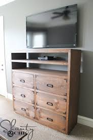 amazing dresser with shelf 2 d i y medium storage shanty chic on top and drawer mirror above