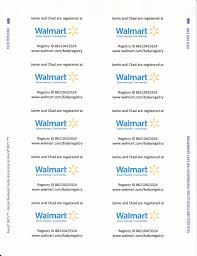 Since Walmart Now Requires You To Pay For Registry Inserts And I