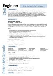 Cv Samples For Engineering Students Cv Format For Civil Engineering Students Cv Template Structural