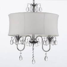 plug in overhead lighting. unique plug white drum shade crystal ceiling chandelier pendant light fixture lighting  lamp  swag plug inchandelier w 14u0027 feet of hanging chain and wire and plug in overhead lighting i