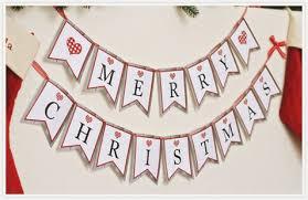 46 Sweet Merry Christmas Letter Banner Printable Jeettp