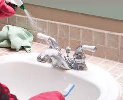 remove stubborn bathroom stains