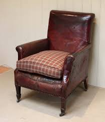 edwardian leather library chair antique library chairs