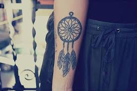 Dream Catcher Tattoo On Forearm New 32 Small Dreamcatcher Tattoo Placement Ideas