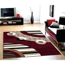 brown and black area rug red cream rugs 5 gallery amazing tan post br