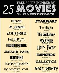 Fonts Posters Movie Font 25 Free Types For Making Captivating Film Posters