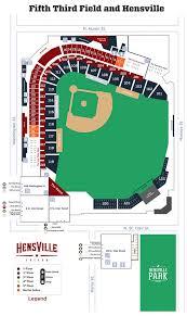 Fifth Third Field Seating Chart Dayton Ohio Wallseat Co