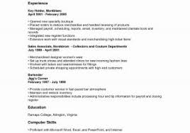 Resume Examples For Retail Job Free For You Useful Resume For Retail