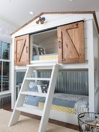 cool kids beds. Interesting Kids Farmhouse Style Bunk Bed  Cool Bunk Beds You Wish Had As A Kid Throughout Kids D