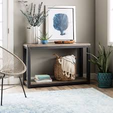 metal industrial furniture. Industrial Console Table Rustic Entryway Furniture Storage Shelf Wood Metal New And Tables Modern Black Wrought Iron Mid Century Credenza Low Consoles Entry