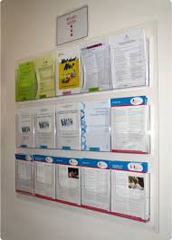 wall mount brochure holder dl displaydl wall mounted acrylic literature display holders a panels pa large