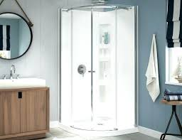 ove decors christelle 36 corner shower kit x 60 door enclosure tulip bathroom ideas bathrooms beautiful