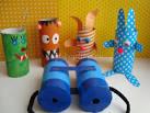 Поделки из цилиндров с детьми