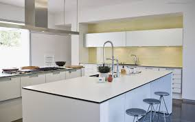 White Kitchen Modern Kitchen White Cabinets With Black Kitchen Hood Modern White