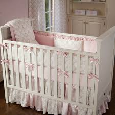 Bedroom: Unique Pink And Taupe Bedding Set Ideas For Baby Girl - Cheap Baby  Girl