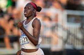 Texas A&M sprinter Athing Mu turning ...