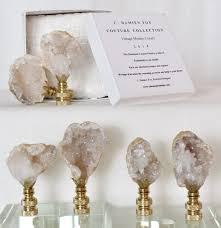 handmade lighting design. geode finial collections gold lampslighting design handmade lighting l