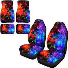 universe galaxy car seat covers floor