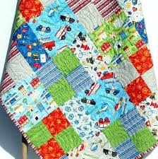 Baby Boy Quilt Baby Boy Quilts For Sale Baby Boy Quilts Etsy Easy ... & Baby Boy Quilt Rescue Fire Police Ambulance Unique Nursery Bedding Baby Boy  Quilts For Sale Baby Adamdwight.com