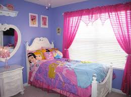 High Quality Disney Princess Bedding Set With Pink Sparkle Curtains