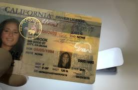 Image result for fake id california