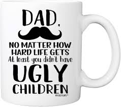 100m consumers helped this year. Amazon Com One Awesome Dad Funny Coffee Mug Best Valentines Day Gifts For Dad Men Unique Dad Gifts From Daughter Son Wife Cool Bday Present Ideas For Husband Father