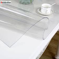 Couverture De Table De Cuisine Transparente En Pvc Moderne Nappe En