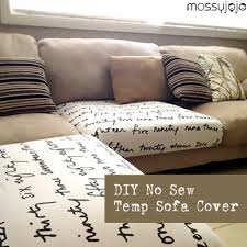 mossyjojo: DIY NO SEW TEMP SOFA COVER - a quick solution for kid's Sharpie  doodles