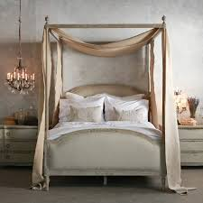 Four Poster Canopy Bed With Elegant Antique Four Poster Canopy Bed ...