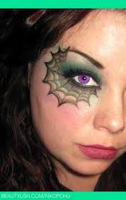 makeup spider web love the colors in this and not all black