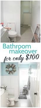 Vintage Modern Bathroom Reveal: $100 Room Challenge - Lovely Etc.
