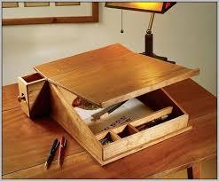 lap desk plans wooden organizer admirable captures