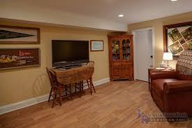 Finish Basement Design Mesmerizing Gallery Basement J R Construction Services Inc