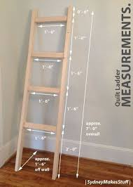 Best 25+ Quilt ladder ideas on Pinterest | Blanket holder, DIY ... & DIY Quilt Ladder Adamdwight.com