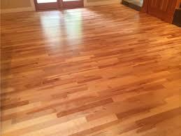 american cherry wood floor in entry way