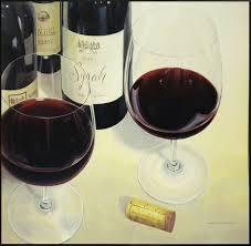 """<b>Декобокс</b> СолоДомДекор """"<b>Вино</b> в бокалах"""", 50 х 50 см"""