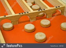Dutch Game With Wooden Discs Picture Of Old Dutch Shuffleboard Game 15